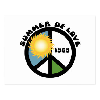 Summer of Love 69 Postcard