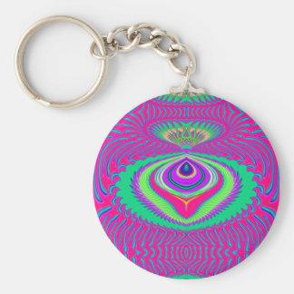 Summer of Love keychain
