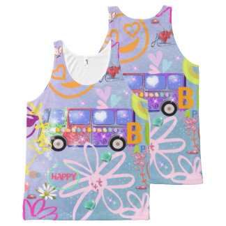 summer of love - the 60s All-Over-Print tank top