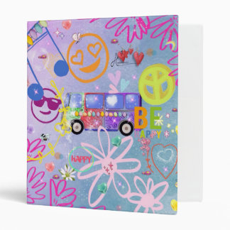 summer of love - the 60s binder