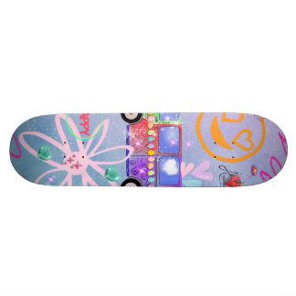 summer of love - the 60s skate board