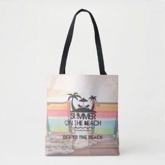 Summer on the  Beach | Personalized Tote Bag