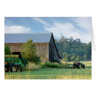 Summer on the Farm Card