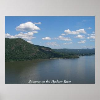 Summer on the Hudson River Poster