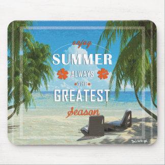 Summer-orange Mouse Pad