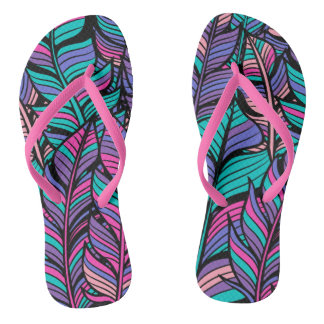 Summer Outfits Colorful Boho Style Flip Flops