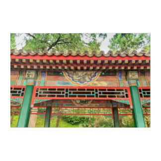 Summer Palace Bridge Detail Acrylic Wall Art
