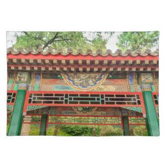 Summer Palace Bridge Detail Placemat