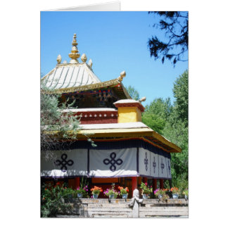 Summer Palace Greeting Card