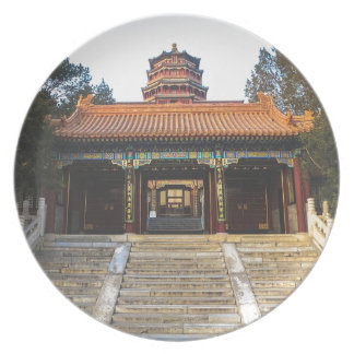 Summer Palace In China Plate
