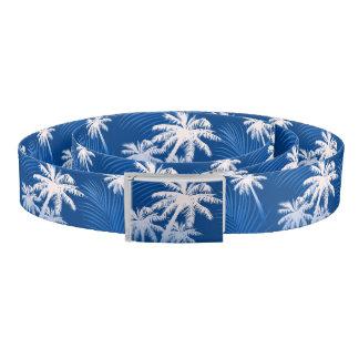 Summer palm trees belt