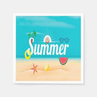 Summer Paper Napkins