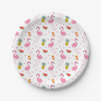 Summer Party 7 Inch Paper Plate