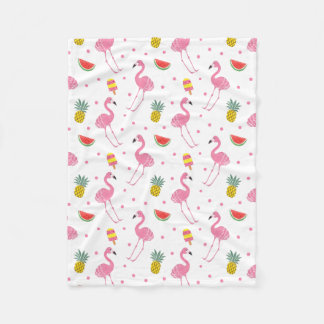 Summer Party Fleece Blanket