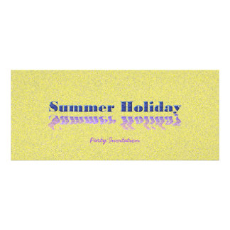 Summer Party Personalized Invitation