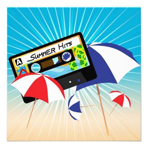 Summer Party Invite