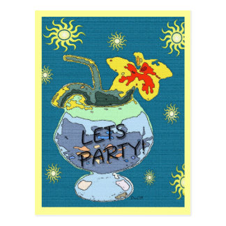 Summer Party Postcard
