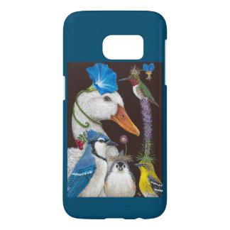Summer Party Samsung Galaxy S7 in blue Samsung Galaxy S7 Case