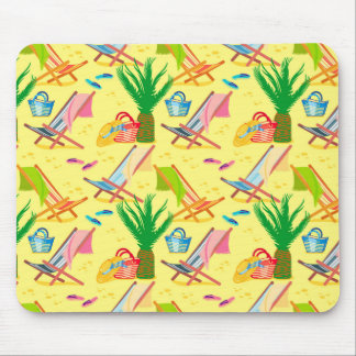 Summer passion mouse pad