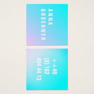 Summer Pastel Gradient Artist Cards