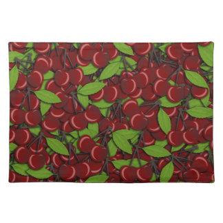 Summer pattern - Cherries Placemat