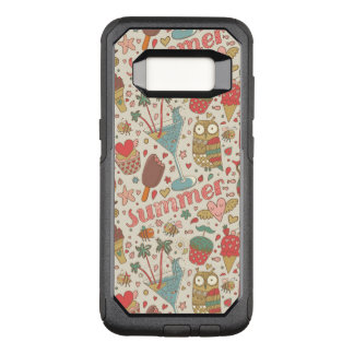 Summer Pattern With Ice Cream OtterBox Commuter Samsung Galaxy S8 Case