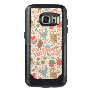Summer Pattern With Ice Cream OtterBox Samsung Galaxy S7 Case