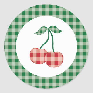 {Summer Picnic} Cherry Stickers