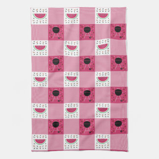Summer Picnic Kitchen Towel