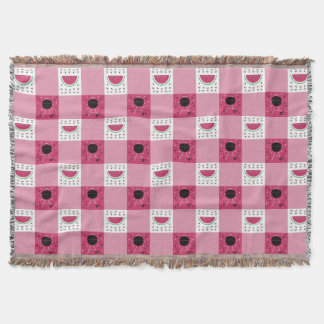Summer Picnic Throw Blanket