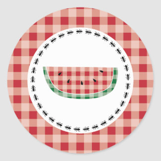 {Summer Picnic} Watermelon Stickers - Red
