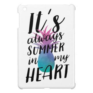 Summer Pineapple iPad Mini Covers