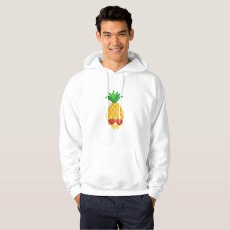 Summer Pineapple Skull Cool Sunglassess Hoodie