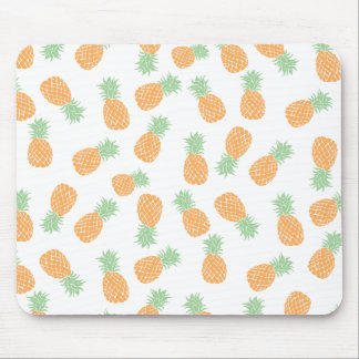 summer pineapples pattern mouse pad