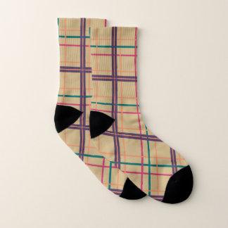 Summer Plaid Socks