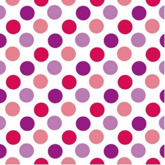 Summer Polka Dots Photo Cutouts