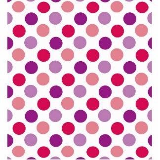 Summer Polka Dots Standing Photo Sculpture