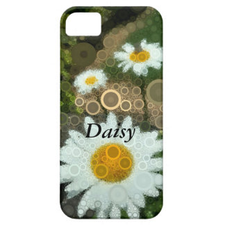 Summer Pop Art Concentric Circles Daisy iPhone 5 Cover