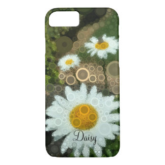 Summer Pop Art Concentric Circles Daisy iphone Case-Mate iPhone Case