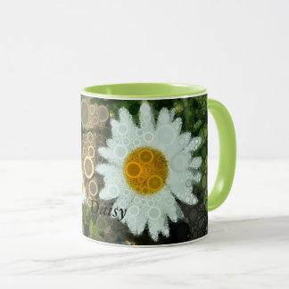 Summer Pop Art Daisy Bachelorette Mug