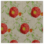 Summer Poppies Fabric