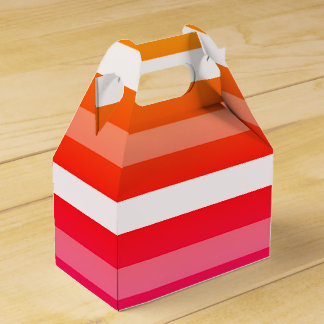 Summer Print Favour Boxes Favor Box