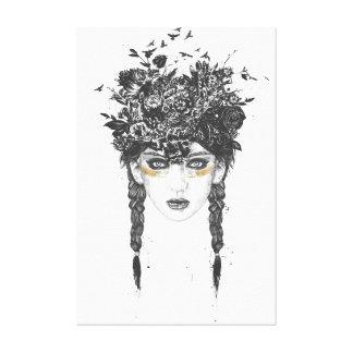 Summer Queen Canvas Print