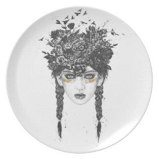 Summer Queen Plate