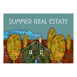 """Summer Real Estate"" Business Card"