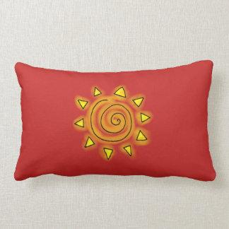 Summer Red Pillow