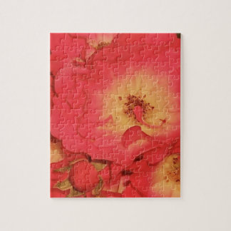Summer Red Roses Jigsaw Puzzle
