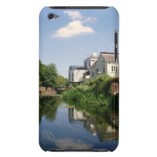 Summer River and Clouds Scenery iPod Touch Cover