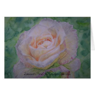 """""""Summer Rose"""" by Candice Martin Card"""
