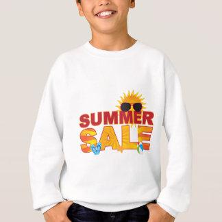 Summer Sale Beach Theme Banner Illustration Sweatshirt